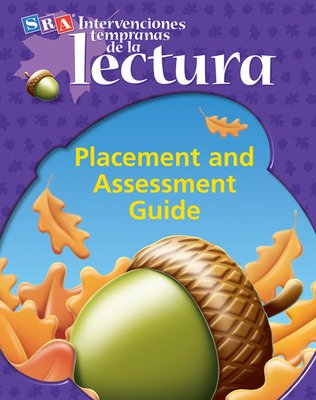 Intervenciones tempranas de la lectura, Placement and Assessment Guide