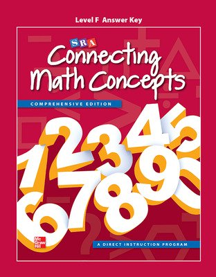 Connecting Math Concepts Level F, Additional Answer Key