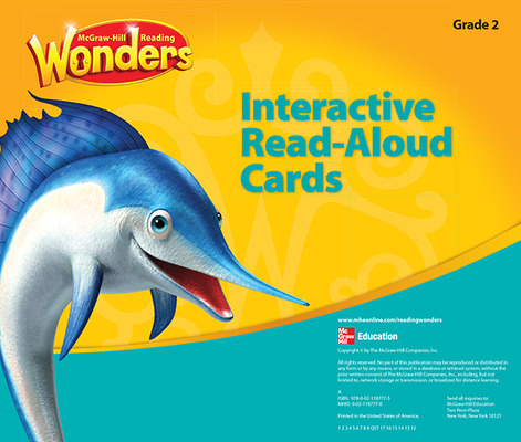 Reading Wonders, Grade 2, Interactive Read Aloud Cards Grade 2