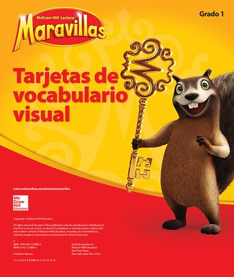 Lectura Maravillas, Grade 1, Visual Vocabulary Cards