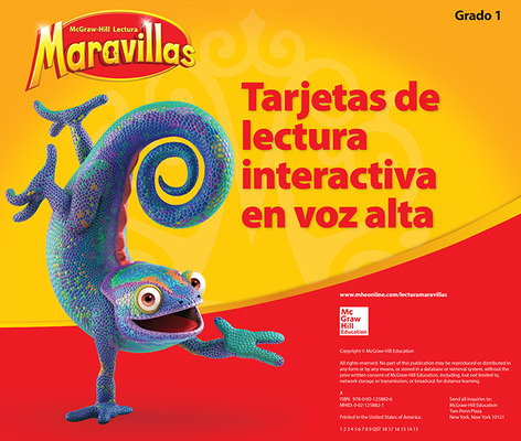 Lectura Maravillas, Grade 1, Interactive Read Aloud Cards