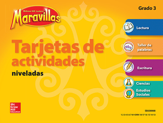 Lectura Maravillas, Grade 3, Workstation Activity Cards