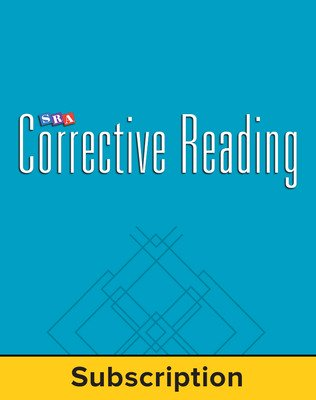 Corrective Reading Decoding Level B1, Core Connection Teacher Materials Package, 6-Year Subscription