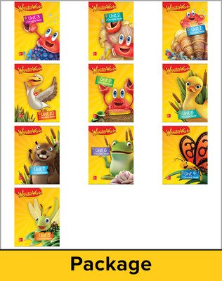 Reading Wonderworks Decodable Reader Package 6PK Grade K