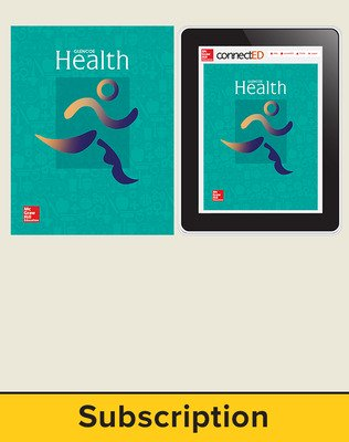 Glencoe Health Student Bundle Print SE 2014 without HS and Online SE 6 Year Subscription