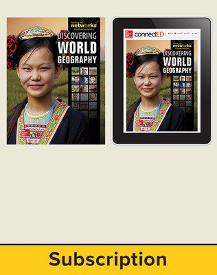 Discovering World Geography, Complete Classroom Set, Print and Digital 6-Year Subscription
