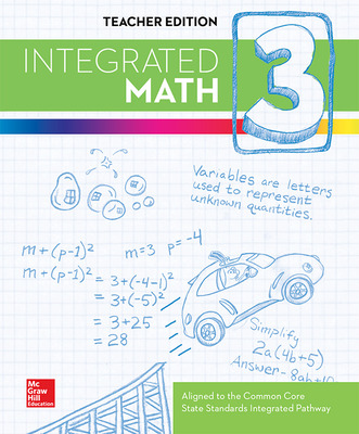 Integrated Math, Course 3, Teacher Edition