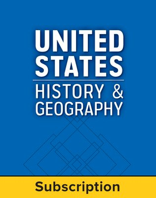 United States History and Geography, LearnSmart, Student Edition, Embedded, 1-year subscription