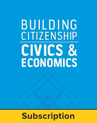 Building Citizenship: Civics and Economics, LearnSmart, Student Edition, Embedded, 1-year subscription