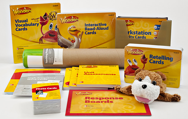 Wonders Comprehensive Classroom System, Grade K (6-year subscription)