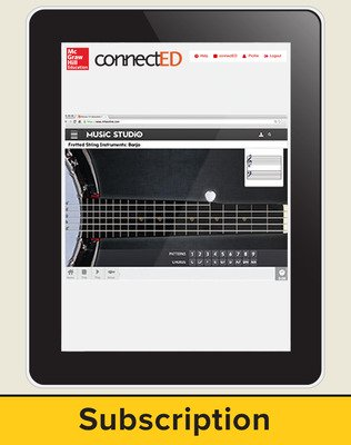 Music! Its Role and Importance in Our Lives, Grades 9-12 Digital Bundle, 6-year subscription