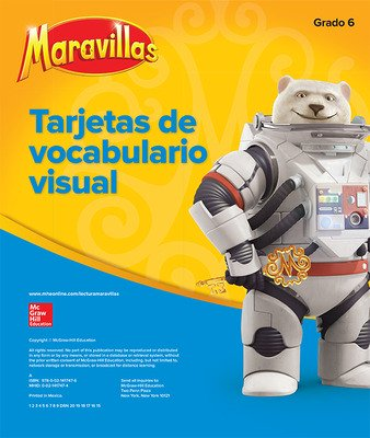Maravillas Visual Vocabulary Cards, Grade 6