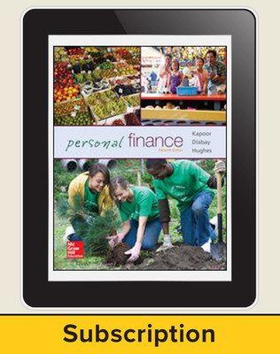 Glencoe Personal Finance, Online Student Edition, 6 year subscription