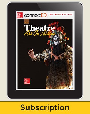 Glencoe Theatre: Art in Action, Online Student Edition, 1 year subscription