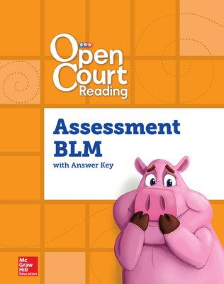 Open Court Reading Foundational Skills Kit Assessment Blackline Master, Grade 1