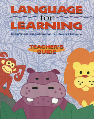 Language for Learning, Additional Teacher's Guide