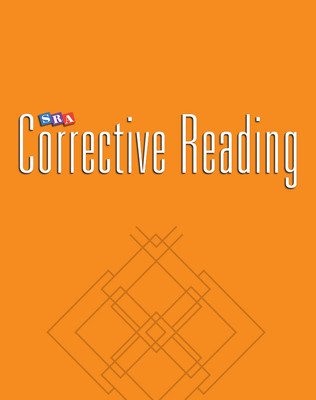 Corrective Reading Decoding Level A, Teacher Material