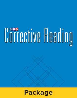 Corrective Reading Comprehension Level A, Student Workbook (Pkg. of 5)