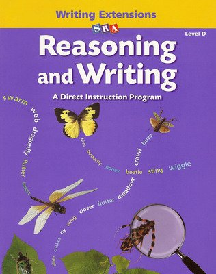 Reasoning and Writing Level D, Writing Extensions Blackline Masters