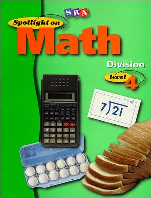 Spotlight on Math, Division Workbook, Grade 4 (Pkg. of 10)