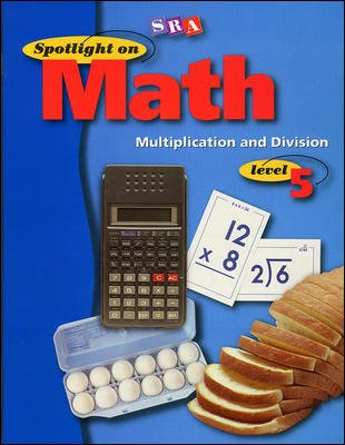 Spotlight on Math, Multiplication and Division Workbook, Grade 5 (Pkg. of 10)