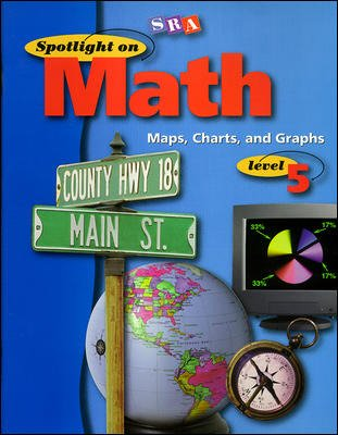 Spotlight on Math, Maps, Charts, and Graphs Workbook, Grade 5 (Pkg. of 10)
