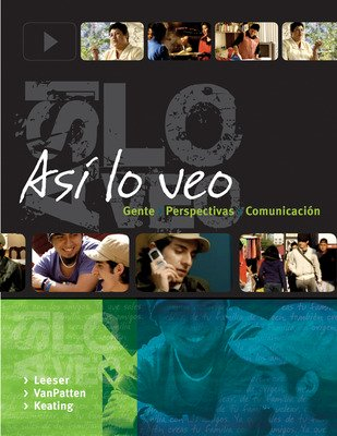 DVD Program to accompany Asi lo veo