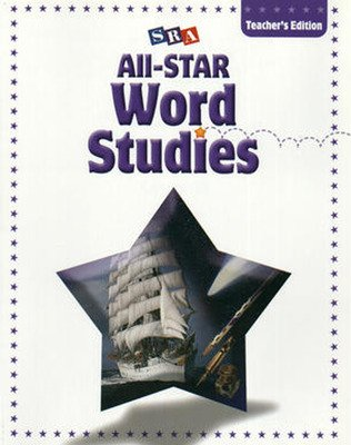 All-STAR Phonics & Word Studies, Teacher's Edition, Level D