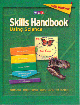 Skills Handbook: Using Science, Skills Workbook Level 4