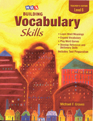 Building Vocabulary Skills, Teacher's Edition, Level 6