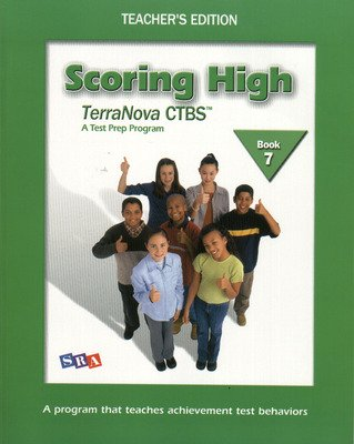 Scoring High on the TerraNova CTBS, Grade 7, Teacher Edition