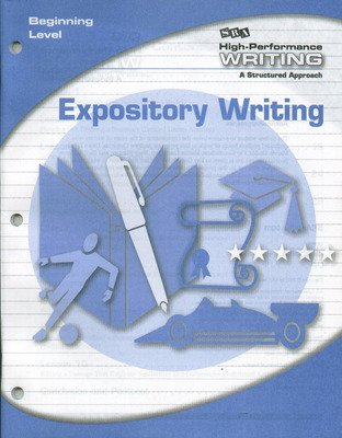 High-Performance Writing Beginning Level, Expository Writing