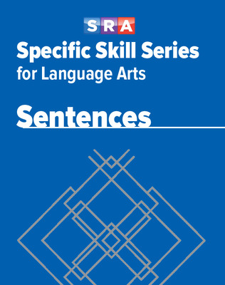 Specific Skill Series for Language Arts - Sentences Book, Level B