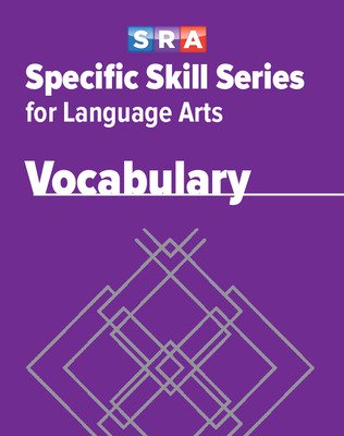 Specific Skill Series for Language Arts - Vocabulary Book, Level F