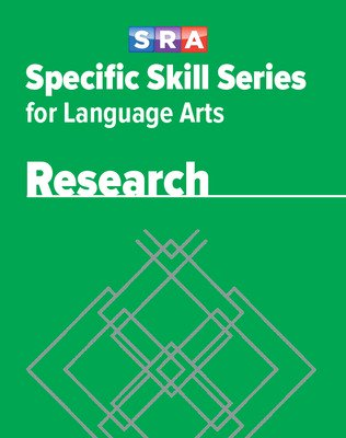 Specific Skill Series for Language Arts - Research Book, Level F