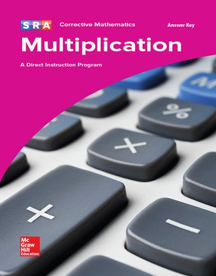Corrective Mathematics Multiplication, Additional Answer Key