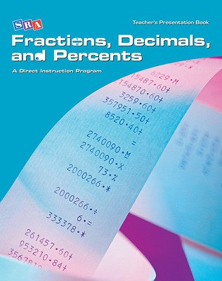 Corrective Mathematics Fractions, Decimals, and Percents, Teacher Materials