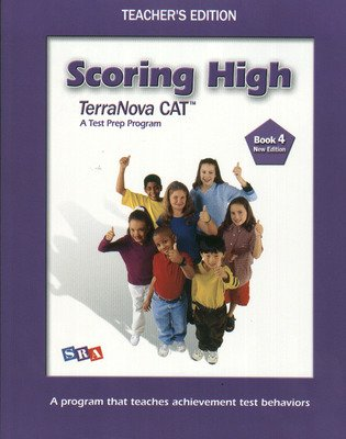 Scoring High on the California Achievement Tests (CAT), Teacher's Edition with Poster, Grade 4