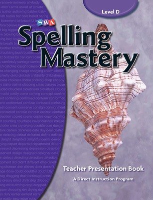 Spelling Mastery Level D, Teacher Materials