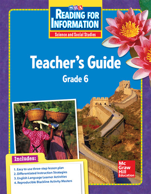 Reading for Information, Teacher Guide, Grade 6