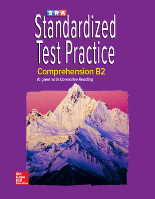 Corrective Reading Comprehension Level B2, Standardized Test Practice Blackline Master