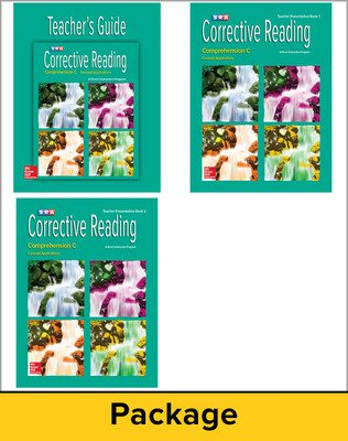 Corrective Reading Comprehension Level C, Teacher Materials Package