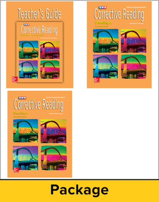 Corrective Reading Decoding Level A, Teacher Materials Package