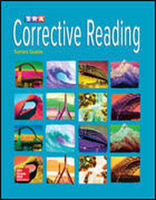 Corrective Reading Comprehension, Teaching Tutor Software