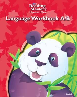Reading Mastery Language Arts Strand Grade K, Workbook A & B