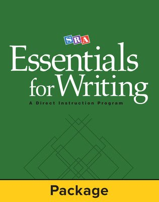 SRA Essentials for Writing Teacher Materials Package