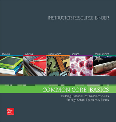 Common Core Basics, Instructor Resource Binder Package