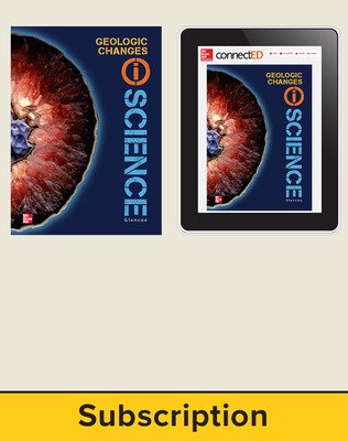 Glencoe Earth & Space iScience, Grade 6, Digital & Print Student Bundle, 6-year subscription