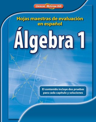 Algebra 1 Spanish Assessment Masters
