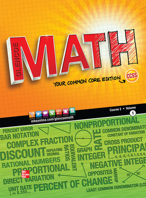 Glencoe Math, Course 2, Student Edition, Volume 1